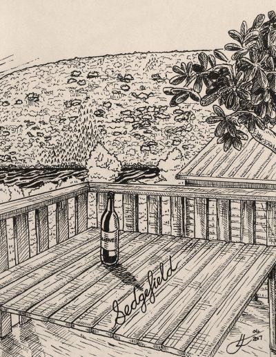 Sedgefield-Drawing