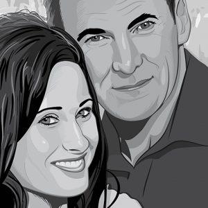 H & S Wedding Portrait Featured Image