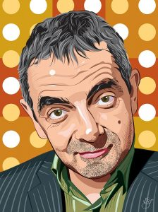 Rowan Atkinson Portrait